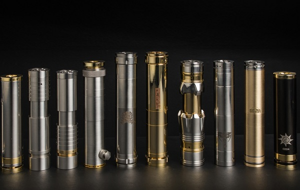 Safety tips mechanical e-cig mods