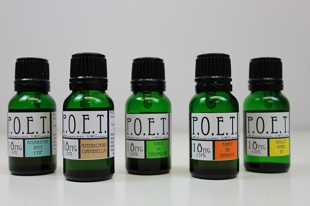 POET E-liquid flavor selection