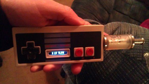 NES Controller E-Cig Mod