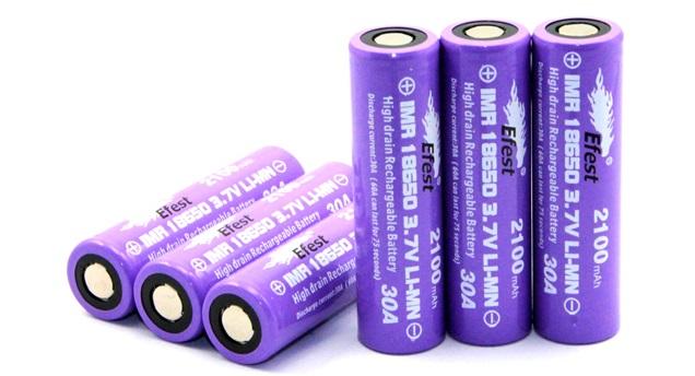 Efest 18650 Purple – 2500 mAh