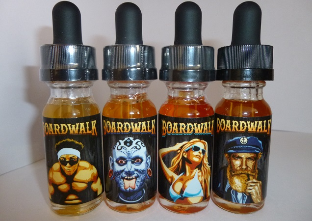 boardwalk e-liquid design