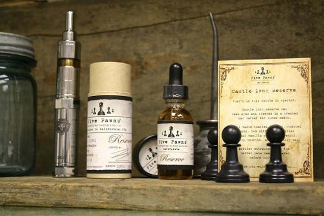 Expensive E-Juice - Five Pawns E-Liquid