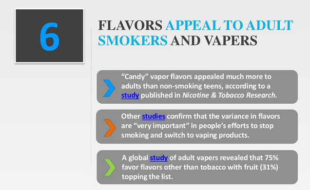 E-cigarette facts