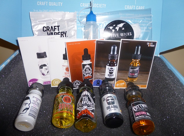 Craft Vapery Review - Unboxing