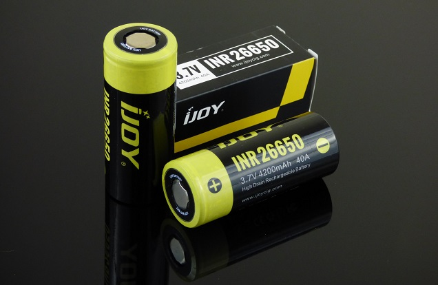 Top 10 High Drain Batteries For Sub Ohm Vaping 2018