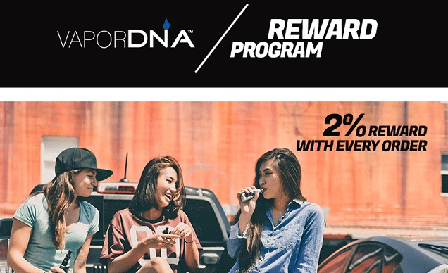 VaporDNA Vape Loyalty Program