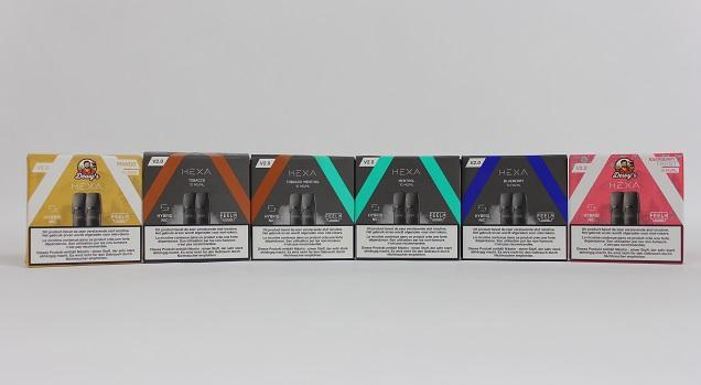 Hexa Flavor Line Up
