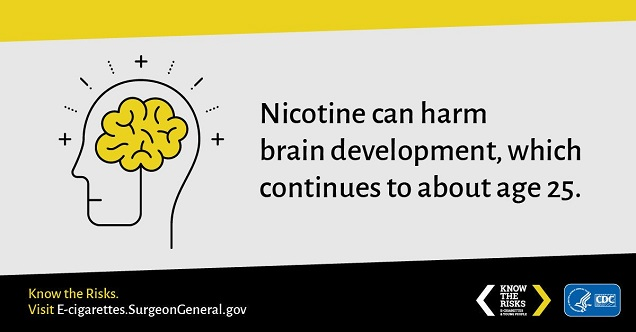 Nicotine Harms Teen Brains Evidence