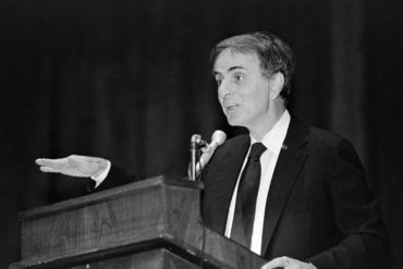 Carl Sagan at Cornel