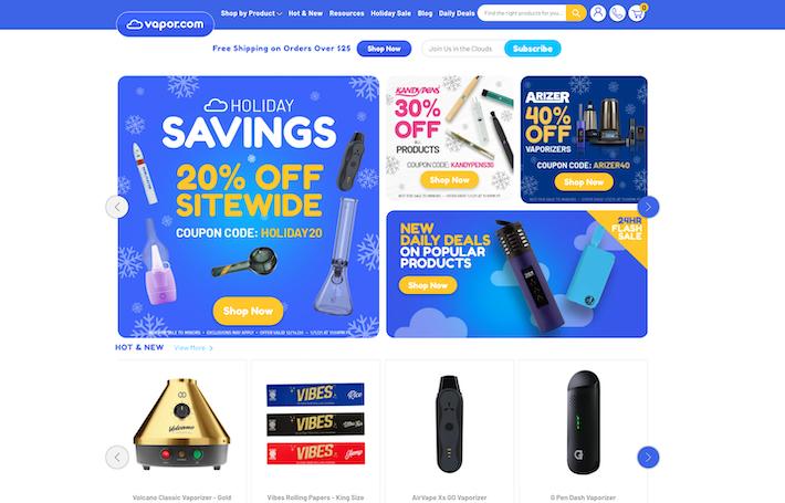 Vapor.com online vape shop