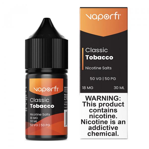 Vaporfi tobacco e-juice
