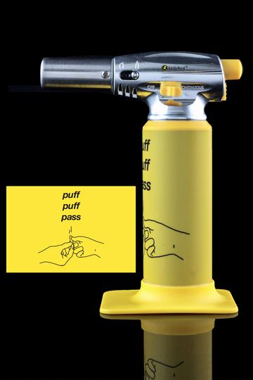 Butane torch lighter for dabbing concentrates